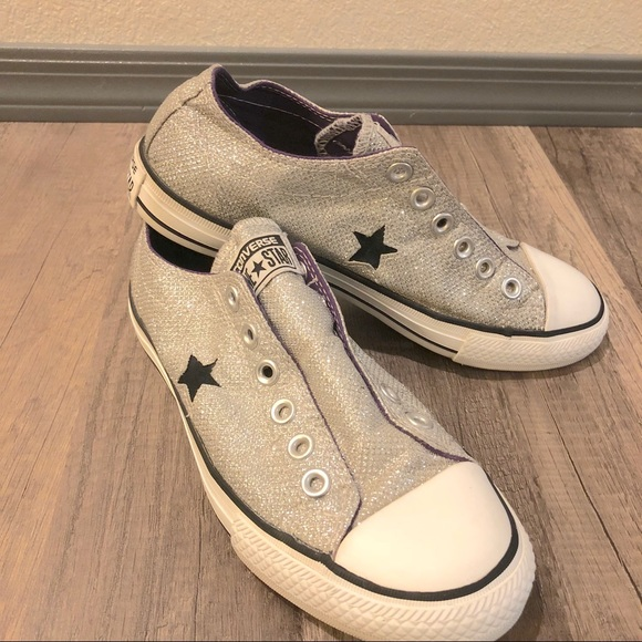 835d1aa33448 Converse Shoes - Converse One Star Sparkle Slip-Ons